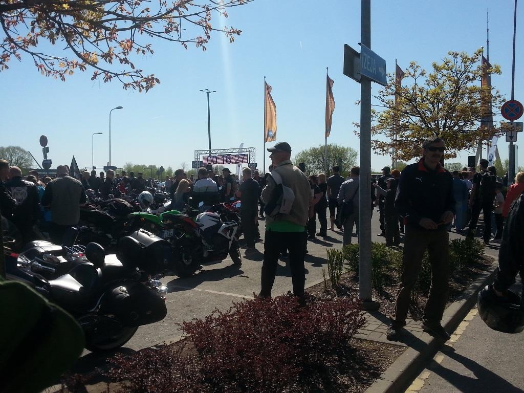 Motosezonas atklāšana 2014